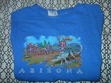 Tm Boys Medium Arizona Blue Shirt