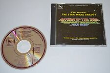 The Star Wars Trilogy / John Williams / Varese Sarabande 1990 / W. Germany