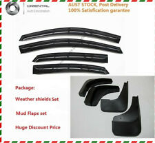 Weather shield Weathershields + Mud Flaps for Mazda 2 hatch 5d 07-14
