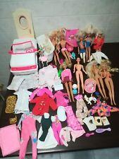 Lotto Barbie Vintage accessori bambole vestiti jeep pezzi anni 90-00