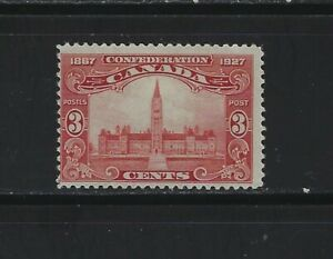 CANADA - #143 - 3c PARLIAMENT BUILDINGS MINT STAMP (1927) MH