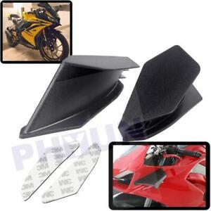 Universal Winglet Aerodynamic Wing Kit Spoiler for KAWASAKI Ninja H2 H2R Yamaha