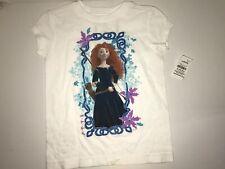Disney Store Pixar Brave Merida Organic T-Shirt Girls Size 2/3