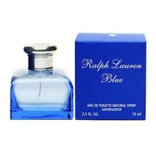 Ralph Lauren Blue Perfume for Women Eau De Toilette 2.5 Oz 75 Ml Spray
