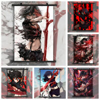 Kill La Kill Matoi Ryuuko Anime Wall Art Poster Scroll Home Decoration