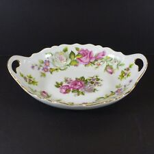 "China Bowl w Handles Harmony Rose Antique Foley 7""x5"" Established 1890"