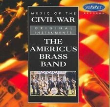 Music of The Civil War 0099402130125 by Americus Brass Band CD