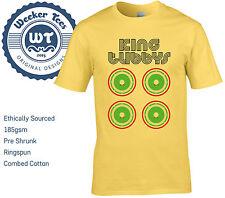 King Tubbys Tribute T-Shirt. Original Dub Reggae Jamacian Legend. Original Print
