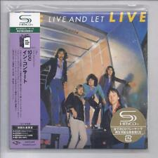10 CC Live And Let Live 2 cd set  JAPAN mini lp cd SHM cd  UICY-93818/9 10cc