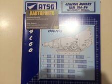 4L60 AUTOMATIC TRANSMISSION REBUILD MANUAL TURBO 700 VN VP VQSTATESMAN CHEV R4