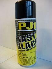 Pj1 noir brillant moteur case haute température moto peinture motocross trials