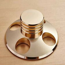2017 New LP Vinyl Turntables Metal Disc Stabilizer Record Weight Clamp HiFi Gold