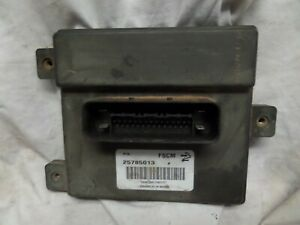 08 09 Chevrolet Cadillac Buick Saturn Fuel Pump Control Module Computer 25785013