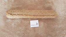 Bringsel aus gerollter Jute mit 1 Schlaufe. Länge: ca. 25 cm x 4,0 cm