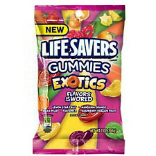 Lifesavers Gummies Exotics Flavors Of The Word Free UK Delivery