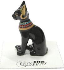 "Little Critterz Miniature Porcelain Animal Figure Egyptian Cat ""Bastet"" LC611"