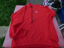 maillot  de vélo Giordana rouge XXL manches longues