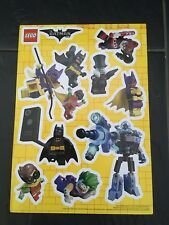Lego Batman Stickers A4 Size