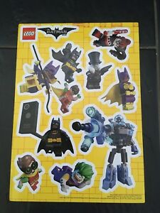 Lego Batman Stickers A4 Size