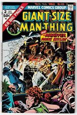 GIANT-SIZE MAN-THING #2 (VF) Big 68 Pages! Vintage Marvel Horror Issue! 1974
