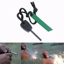 Fire Starter,Survival Magnesium Flint,Tooth Fire Scraper,Emergency Lighter Kit
