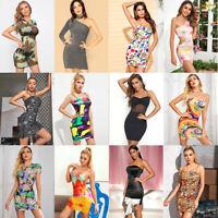 Lot 30 Pcs WHOLESALE CLOTHING WOMEN MIXED DRESSES SUMMER TOPS CLUB WEAR L Large