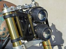 52mm 53mm Motorcycle fork Dual Stacked Projector Headlight naked bike