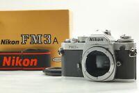 【Exc+++++ in Box】 Nikon FM3A Silver 35mm SLR Film Camera Body from Japan #223