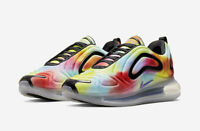 CK0845 900 MENS SIZE 9.5 NIKE AIR MAX 720 'TIE DYE' ATHLETIC SNEAKERS / SHOES
