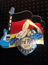 HRC Hard Rock Cafe Berlin Sports Flag Series Pin 2012, LE 250