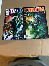 Doom 1 2 3 Marvel 2000 Complete Set Run Lot 1-3 VF/NM