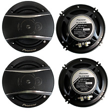 4 Pioneer 6.5 Inch 3-Way 640 Watt Car Coaxial Stereo Speakers Four | TS-A1676R
