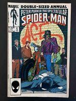 SPECTACULAR SPIDER-MAN ANNUAL #5 MARVEL COMICS 1985 FN/VF