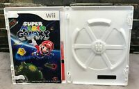 NO GAME Super Mario Galaxy Nintendo Wii Case Artwork Manual Only Replacement