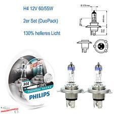 H4 Philips X-treme Vision Plus +130% 2er Set DuoPack 12V 60/55W Sockel P43t-38