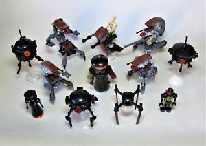 LEGO STAR WARS Droid Minifigures U PICK - ALL NEW Genuine Lego Buildable - Lot H