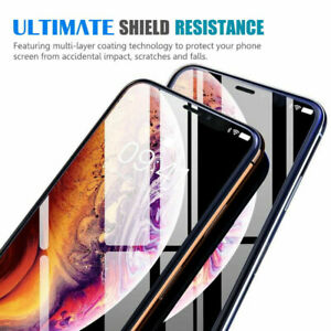 Screen Protector for Apple iPhone X/XS Tempered Glass film- Visibee 100% Genuine