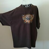 World Famous Men's T-Shirt Size 2XL Sturgis 74th Anniversary Tee XXL