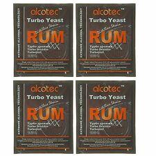 Alcotec Rum Turbo Distillers Yeast (Pack of 4)