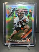 2019 Optic Trayveon Williams Rookie Holo Refractor RC SP Bengals