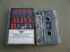 Kiss Alive II Volume II by Kiss (cassette tape 1977)