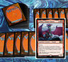 mtg RED DRAGONS DECK Magic the Gathering rares 60 cards lathliss ryusei verix