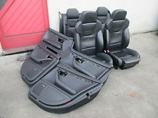 RECARO LEDER Lederausstattung Sportsitze Audi A4 S4 B6 8E Avant Sitz schwarz