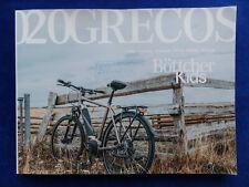 Grecos Bike Programme 2020 Pedelec Bicycles Trekking Kids - Prospectus Brochure