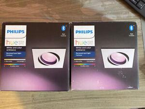 Philips Hue Centura Ceiling SpotColor Ambience GU10  bulbs bluetooth alexa apple