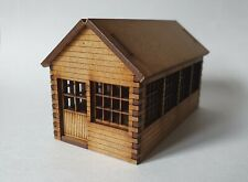 OO Gauge Model Railway MDF Laser Cut Wooden Signal Box