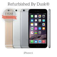 Apple iPhone 6 / 6 Plus / 6S / 16GB 64GB 128GB Grade A Refurbished By Dusk®