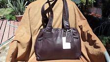Osgoode Marley Ava 7096 Raisin Leather Shoulder Handbag