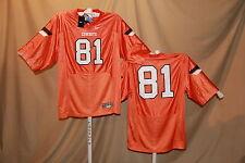 OKLAHOMA STATE COWBOYS  Nike #81 FOOTBALL JERSEY  Medium NWT  orange  $60 retail