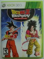 DRAGON BALL Z BUDOKAI HD COLLECTION XBOX 360 MICROSOFT GAME  *